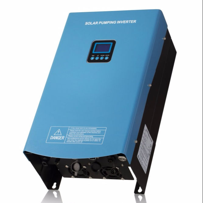 Solar Pumping Inverter HSPH5500H atmatic switching dry run protection by sensor/software home drinking water storage