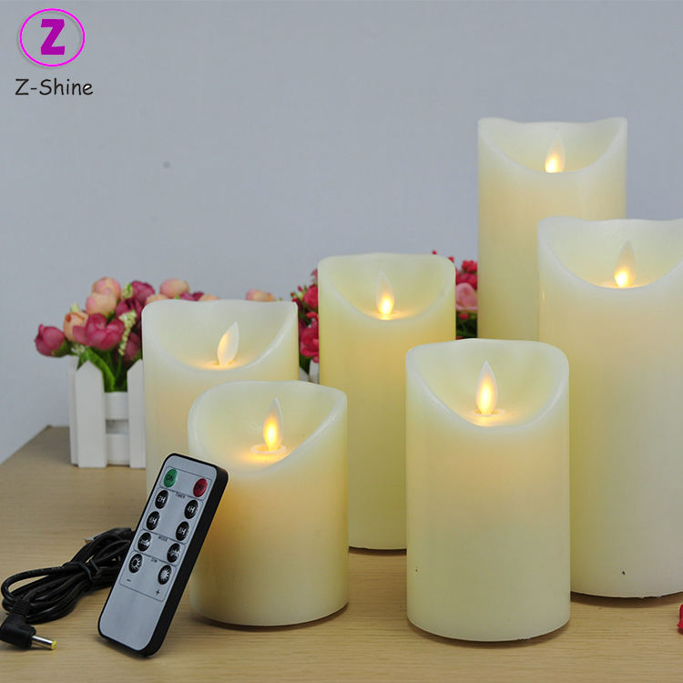 Cheap Wholesale Battery Operated Flameless LED Decorative Candle Wax Warmer Electric