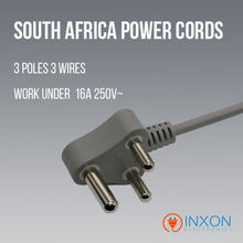 South africa BSI computer female power cable wire au plug for laptop