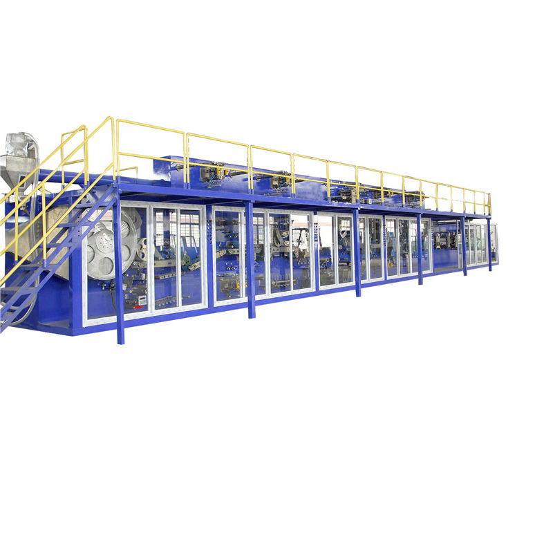 Baby diaper machine production line China suppliers industry pampers machine full servo baby diaper machine price