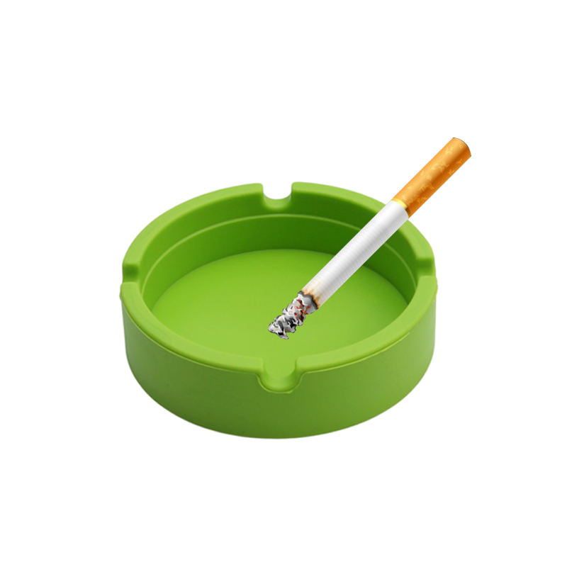 Heat Resistant Customised Silicone Cigarette Ashtray Silicone Cigar Ashtray