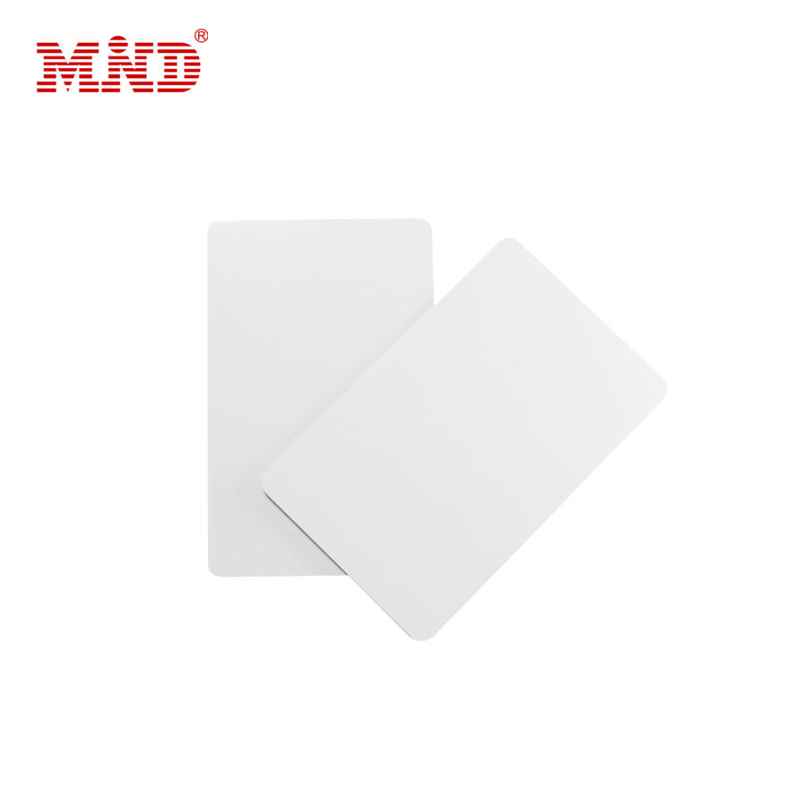 PVC blank chip card , inkjet printable pvc / paper id cards