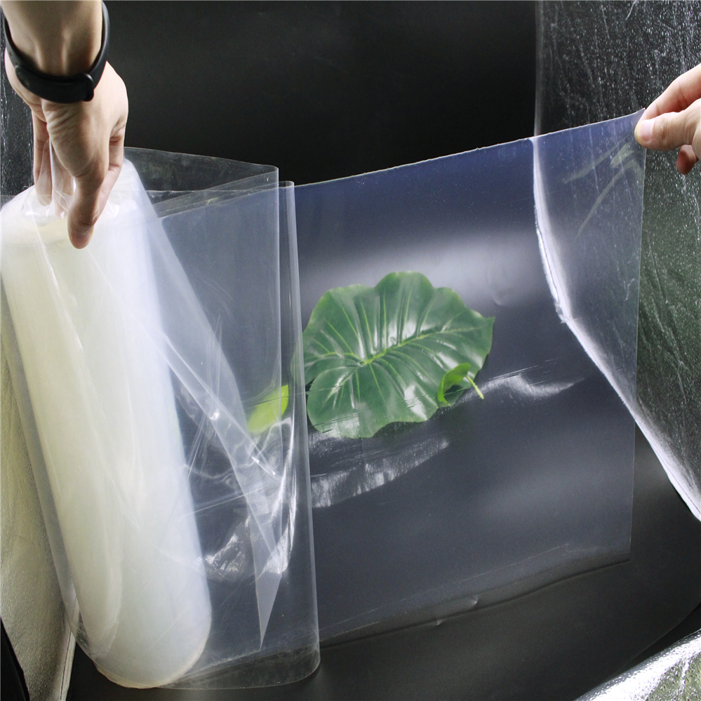 Wholesale cheap high temperature clear thin transparent 0.4mm silicone rubber sheet