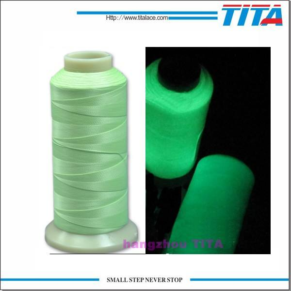 China factory direct price Glow In The Dark Embroidery Thread For Brother Machines