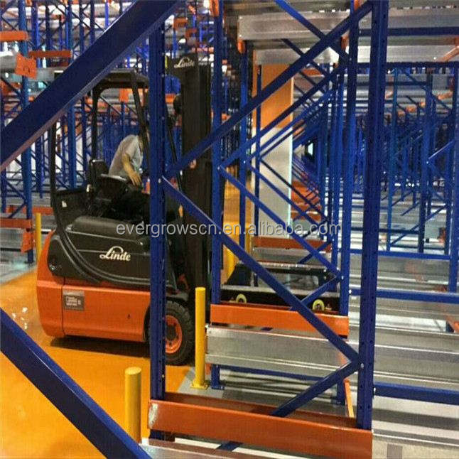 CE and TUV Certificated Pallet Shuttle Racks