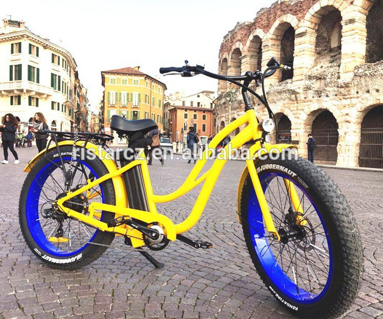 "China factory 26inch fat ebike 26"" tire electric vehicle"