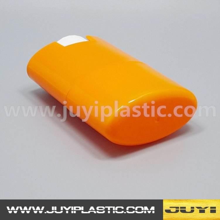 Новый стиль Двухслойная структура 75 мл пластиковый корпус дезодорант контейнер