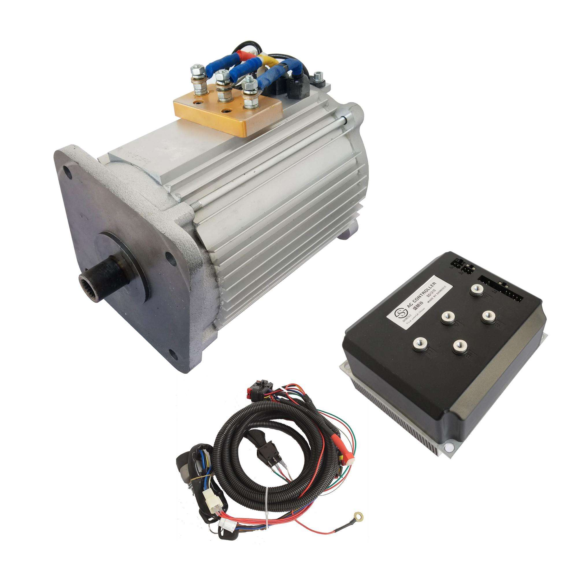 Regenerative braking 7.5kw universal motor speed controller for electric golf cart