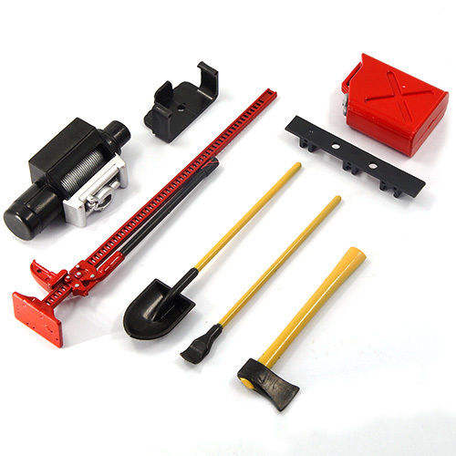 1/10 1/8 RC Rock Crawler Truk RC 4WD Aksesoris Merah Warna Hot Jual Tool Set