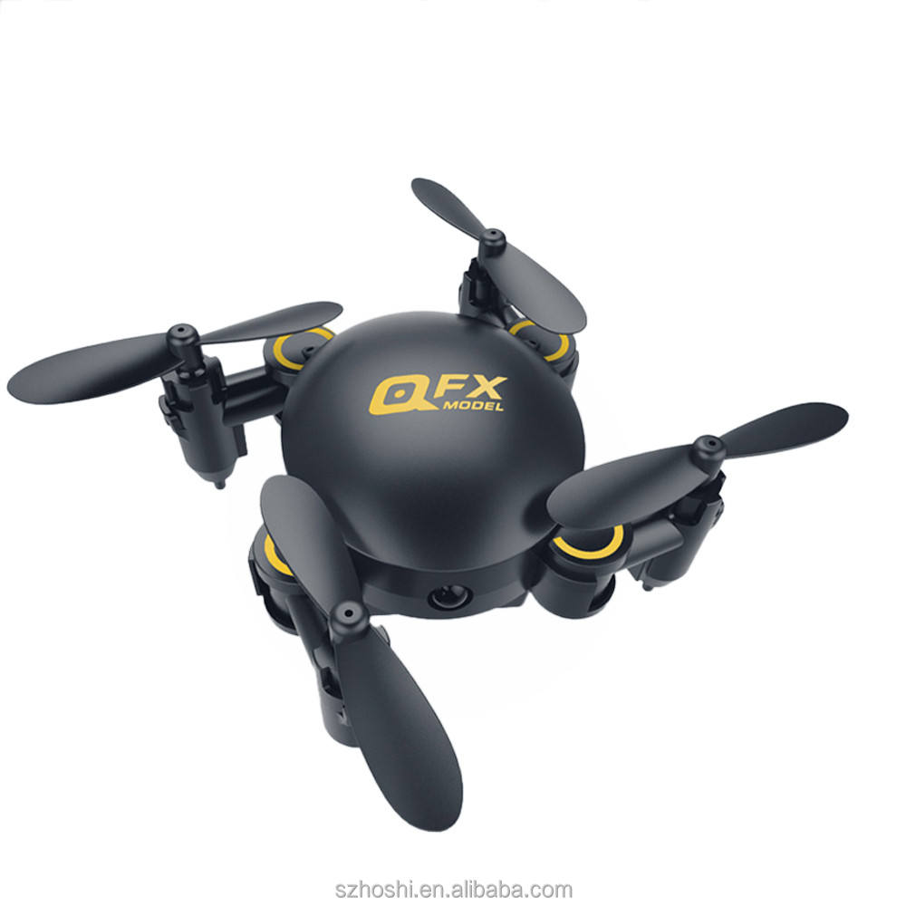 Q2 Mini drone 4-achsen 2,4 Ghz 0.3MP HD Kamera Wifi Headless Modus Drone 3D Flip RC UAV