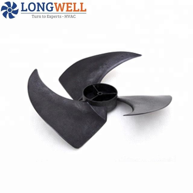 High Quality Low Noise Plastic Axial Fan Blades Blower Fan Blades 408-115 Model air conditioner parts fan blades