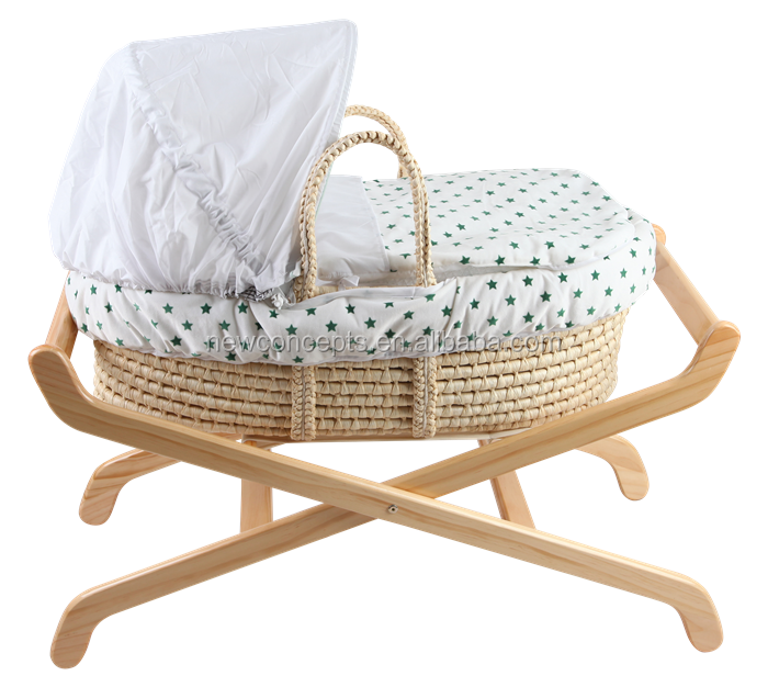 Maize peel baby carrier basket,baby gift basket ,baby cradle