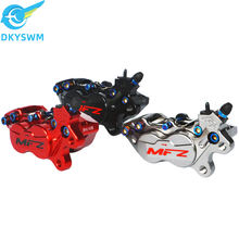 Mfz-morse four-piston caliper CNC forged piston downpump caliper sport competitive brake CF01S