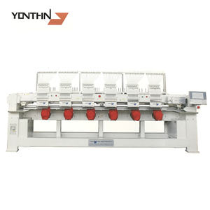 Cap and t-shir garment 6heads 4 heads embroidery machine price