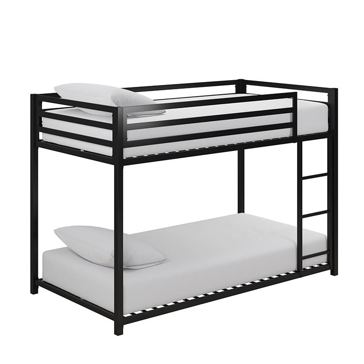 Modern Design Furniture Double Decker Metal Bed