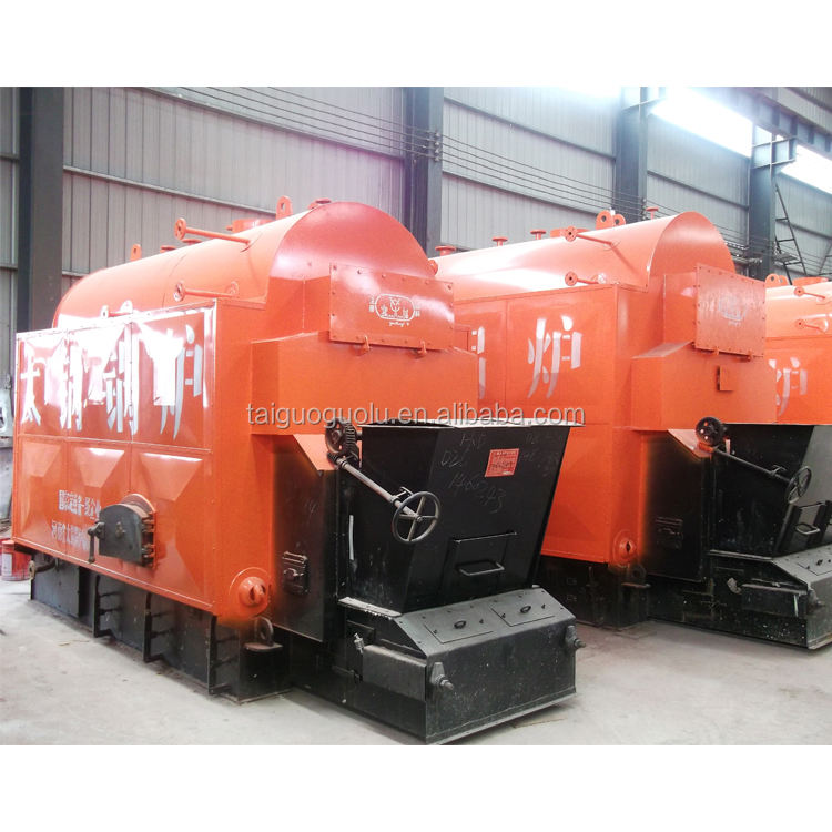 China 10 Boiler Supplier Industri Biomassa Pellet Kayu Dipecat Boiler Uap