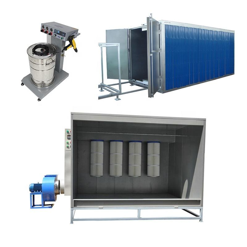 Buy China Batch Powder Coating Curing Oven/Booth/Gun for Steel Pipes