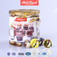Factory price own brand mini chocolate ball with biscuit pure dark chocolate candy