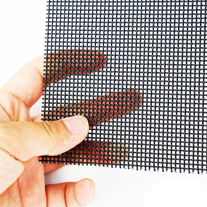 heavy duty hinged stainless steel mesh security window screens