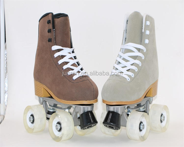 Suede Roller Skate and Inline skating Adjustable for hot sale skate shoes