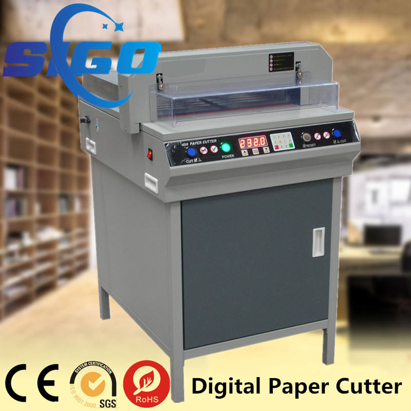 SG-450VS+ a4 paper manufacturing machine paper cutting machine price slitting machine