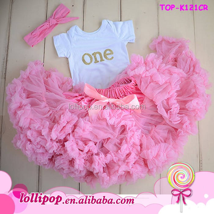 girls first birthday outfit, first birthday tutu, girl pink pettiskirt outfit kids tutu pettiskirt