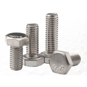 ss 304 nut bolt hexagon head bolt