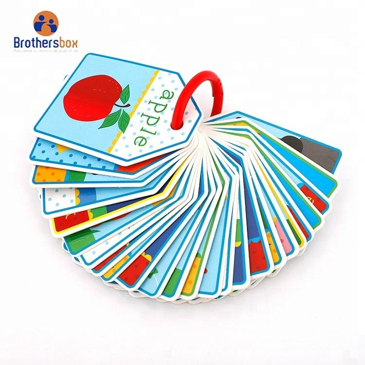 Educational Toy Playing Kids Match Cards