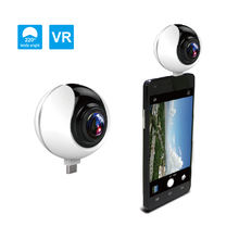 Pano 2018 NEW View 360 degree VR camera Android Mobile Control Dual Panoramic VR Camera 360
