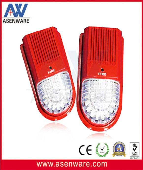 Внутренняя пожарная звуковая сигнализация с тактовой мерцающей сигнализацией