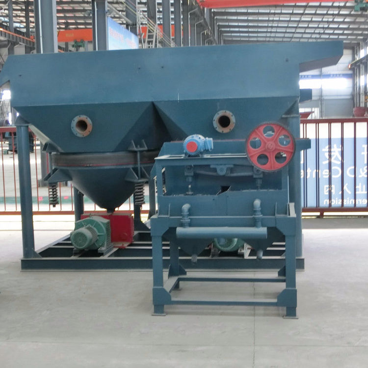 Simple maintenance, large capacity, high reliability of sawtooth wave jig for mineral separation