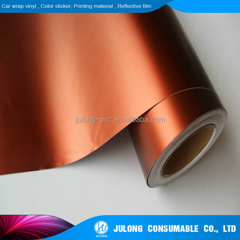 2018 Hot sales matt chrome vinyl film