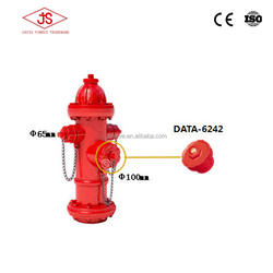 High quality fire fighting equipment outdoors fire hydrant