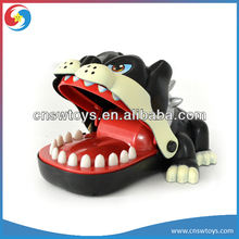 Bulldog game teeth toy roulette game for kid