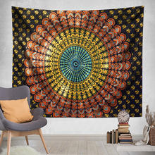 Hot selling custom vintage popular bohemian custom made tapestry printing for wall hangings wholesale