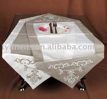 Embroidery Hemstitch Table Runner