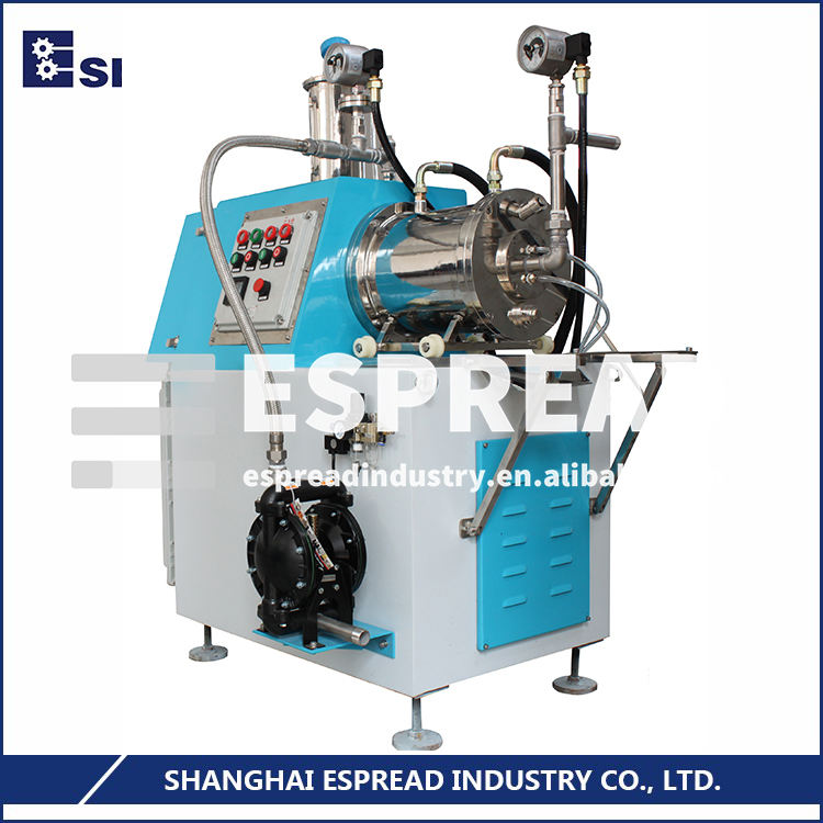 ESN Series Bead Size 0.1 - 1mm Horizontal Paint Grinding Machine
