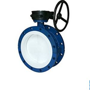 Customized Wholesale flange structure industrial flanged butterfly valves