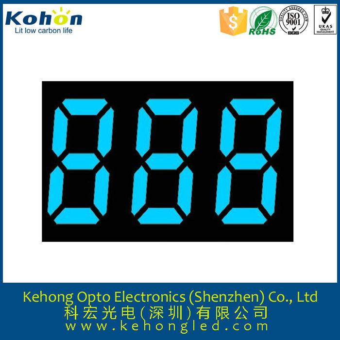 7 segment 0.56'' 3 ziffern elektronische busbahnhof led numerische anzeige