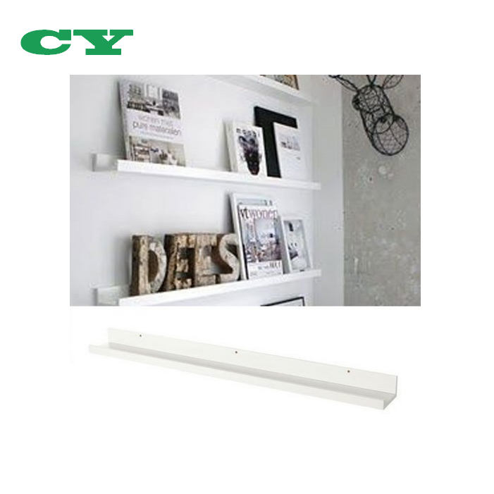 Modern Design Floating Picture Display Ledge wood Wall Mount Shelf