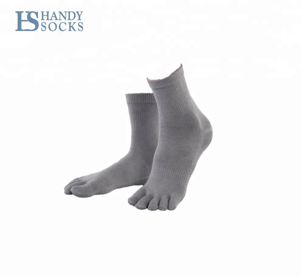 Athletic Cotton Liner Custom Toe Socks Bamboo Fiber Socks