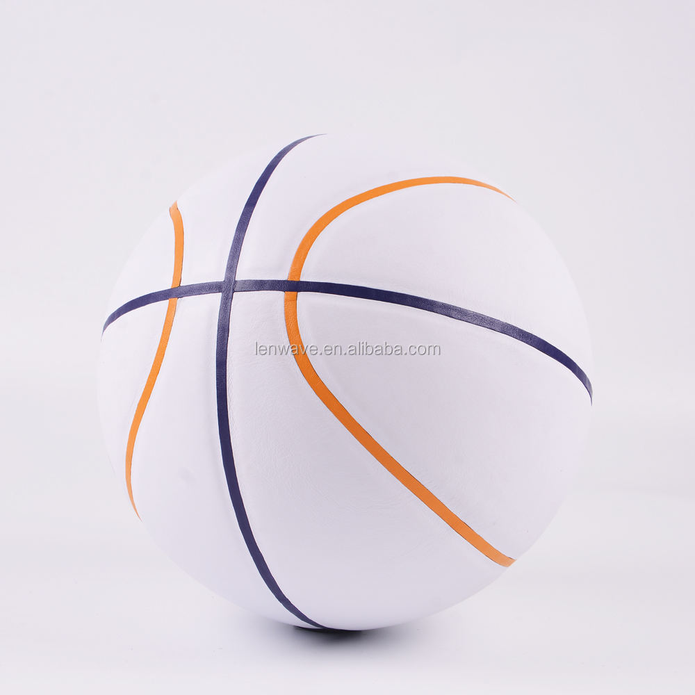 2017 inflatable basketball ball size 7 no logo basketball custom leather basketball