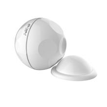 Mini ABS adjustable wifi pir motion sensor 2.4GHz Infrared alarm