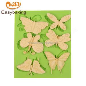 공장 도매 정의 디자인 다른 나비 시리즈 실리콘 금형