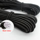 2mm high strength polyester thin coiled elastic rubber string cord for mask