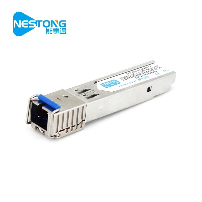 SFP-GE-SC-BX Speed1.25G/SC/Jarak 20 KM Gigabit Single Mode Tunggal Modul Optik/Transceiver dengan DDM
