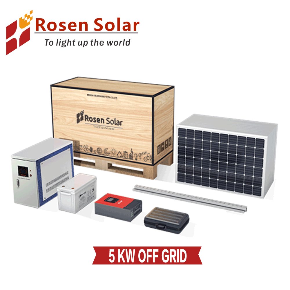 Best Price 4kw 6kw 7kw 10kw 5kw Solar energy System Single 상 5kw \ % Off Grid Solar Power System Price