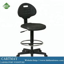 PU computer chairs lab chairs with foot ring