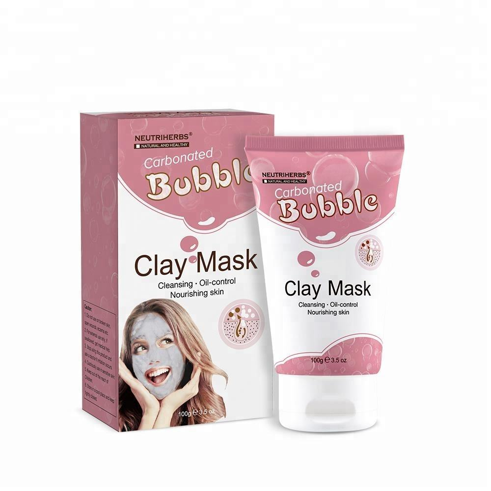 New Product Makeup Remover Carbonated Bubble Clay Mask For Deep Cleansing
