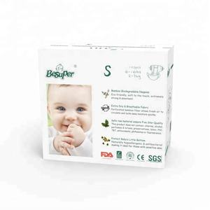 Baby love Bamboo Biodegradable Diapers ecologic Infant Nature Disposable Diapers Eco Friendly Nappies for Babies
